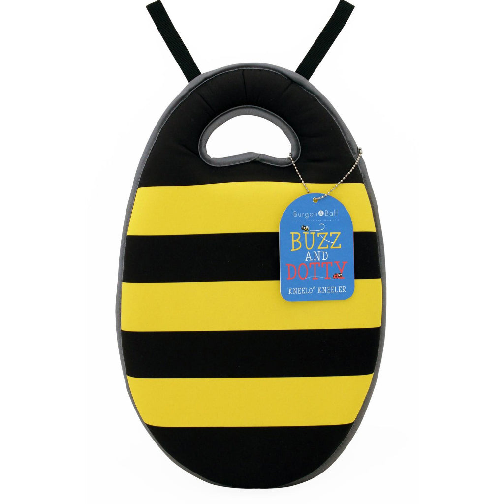 Buzzy kneeler for kids gardening