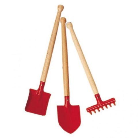 Gluckskafer hand tool set in red