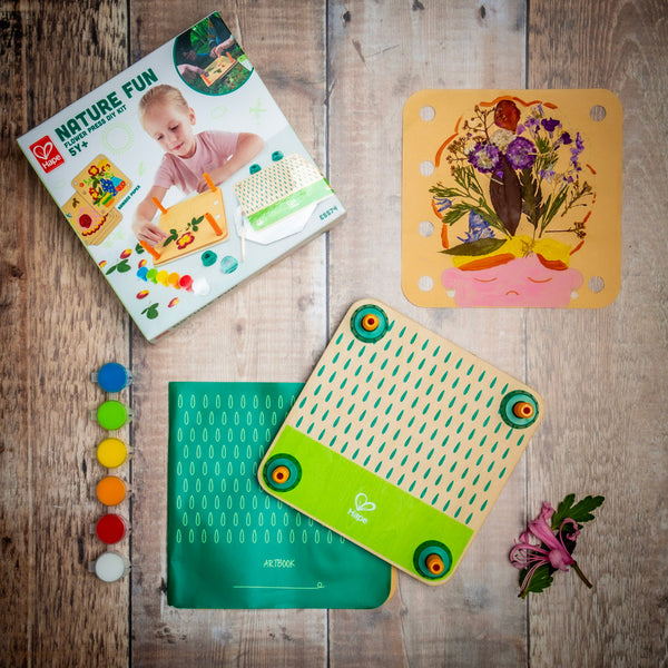 Hape Flower Press 'Nature Fun' contained in the Wildflower Explorer Kit