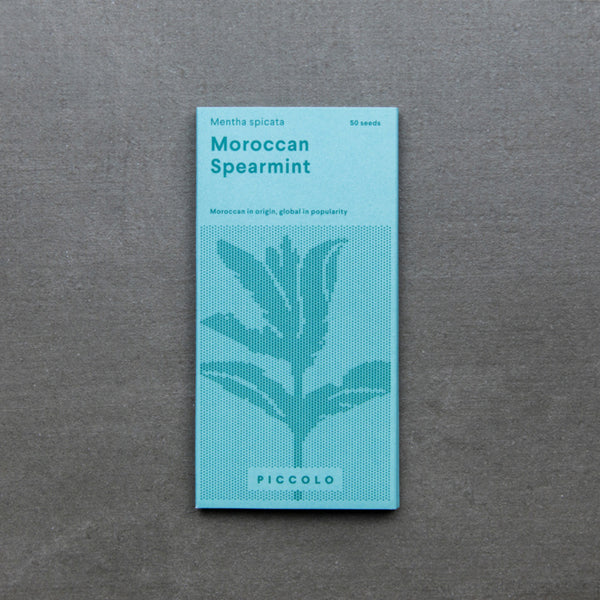 Moroccan Spearmint seed packet