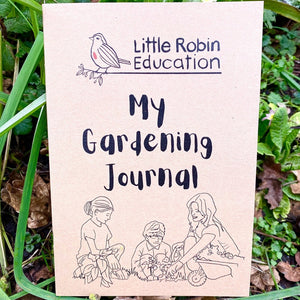 Little Robin Education My Gardening Journal front cover
