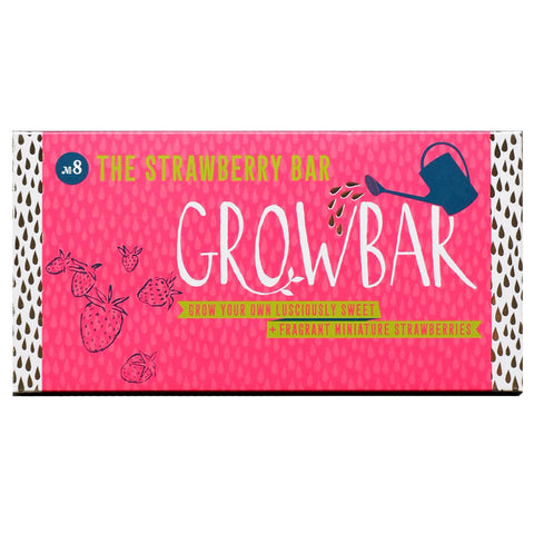 Strawberry growbar front