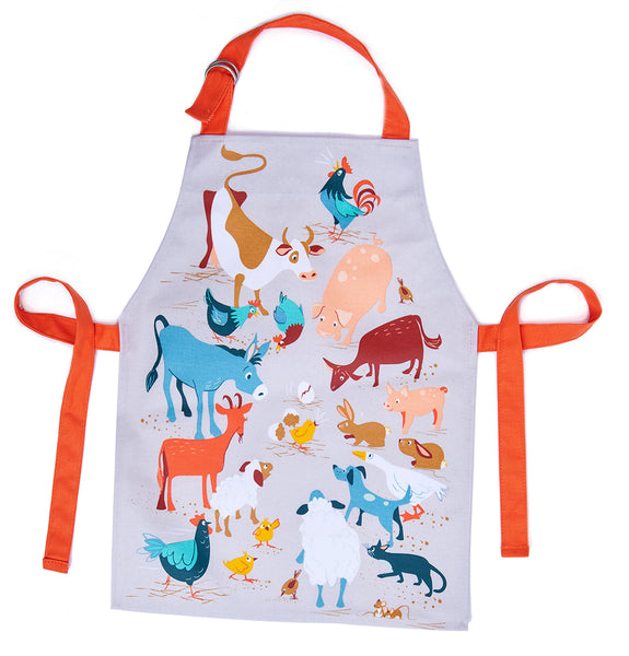 NEW - ThreadBear Design Fred's Farm Apron