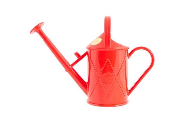 The Haws Bartley Burbler children watering can in red