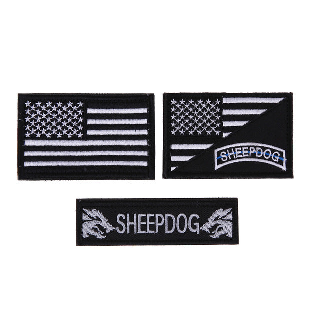 Sheepdog Patches