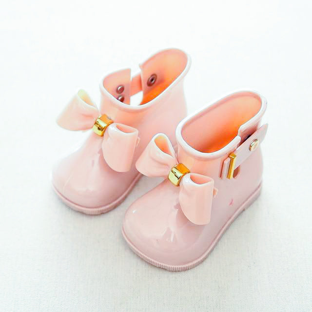 Pretty Bow Rainboots