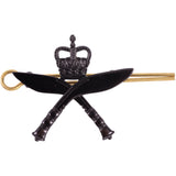 Cap Badge - Royal Gurkha Rifle - Black