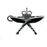 Cap Badge - Royal Gurkha Rifles (RGR) Chrome    Ayo Gurkha