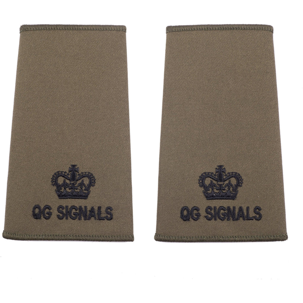 QG SIGNALS Officer Ranks