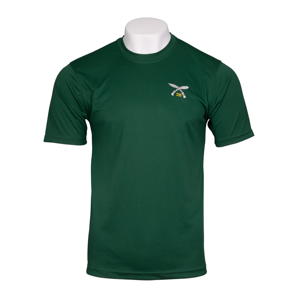 Wicking - 28 SQN PT Top - Rifle Green