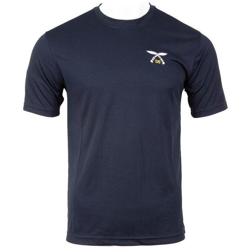 Wicking - 36 SQN PT Top - Navy