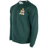 GSPS Rifle Green Sweatshirt with Regimental Crest