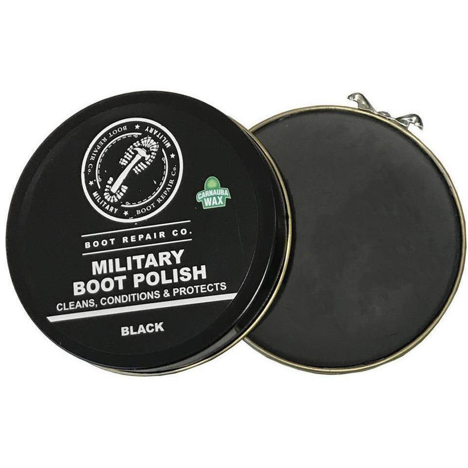 Military Black Boot Polish