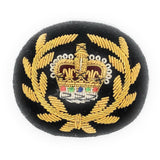 Mess Dress Crown - RQMS - Gold on a Black Ground