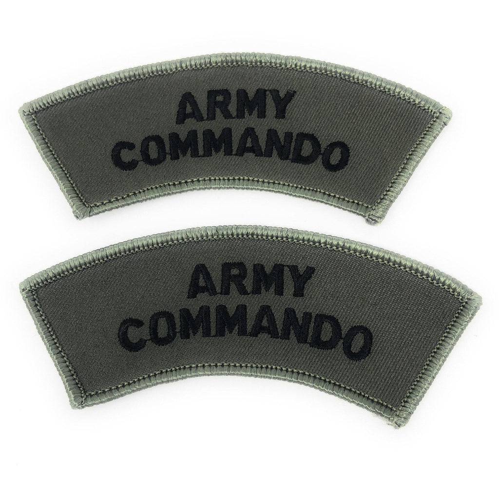 Army Commando Shoulder Title    Ayo Gurkha