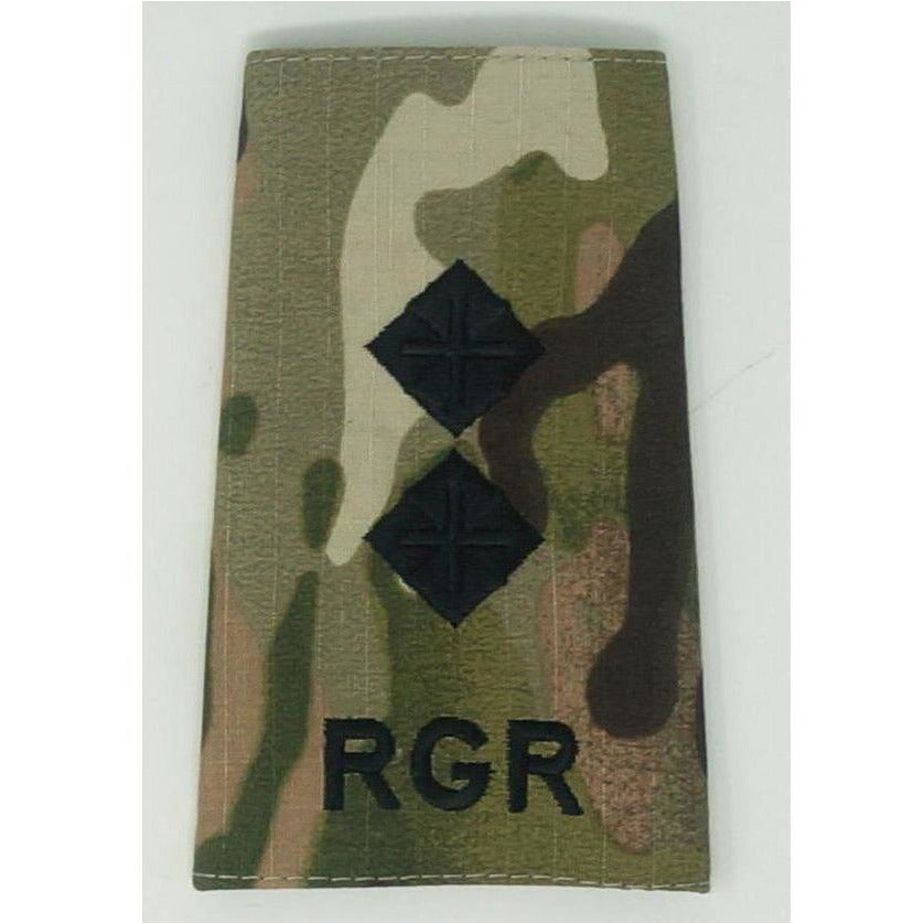 Rank Slides - Royal Gurkha Rifles - Multicam - Commissioned Officers