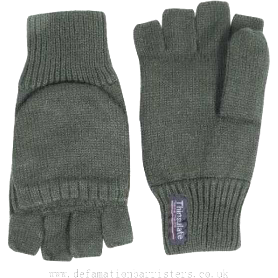 Green Shooting Mitts    Ayo Gurkha