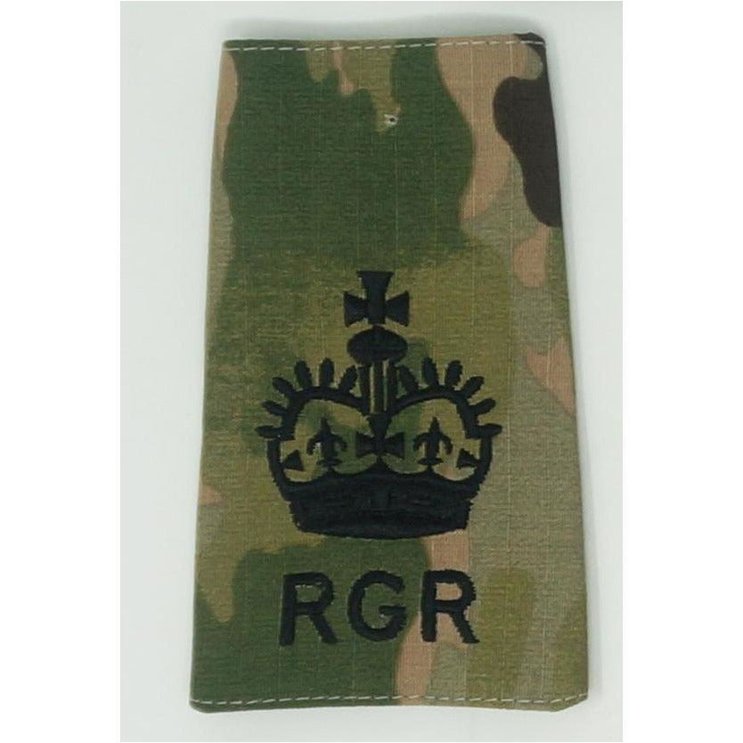 Rank Slides - Royal Gurkha Rifles - Multicam - Other Ranks & Non Commissioned Officers (NCOs)