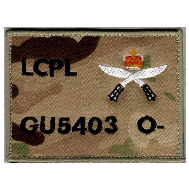 RGR Gurkha Zap Patch