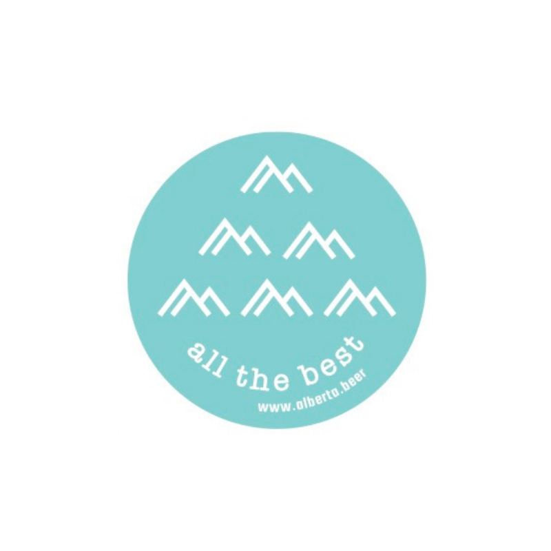 All The Best - Stickers - Mountains