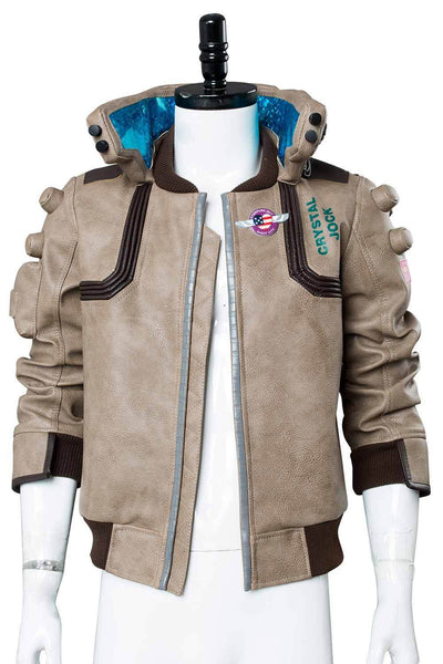 Video Game Cyberpunk 2077 V Jacket Cosplay Costume Merchandise