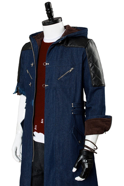 Video Game Devil May Cry 5 Nero Outfit Cosplay Costume New