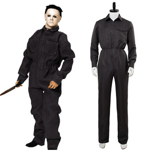 Horror Movie Halloween Michael Myers Jumpsuit Cosplay Costume