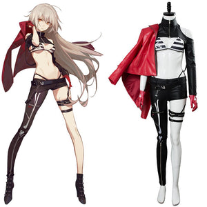 Fate/Grand Order Alter Jeanne d'Arc Cosplay Costume Moon Goddess Event Outfit