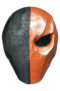 DC Justice League Deathstroke the Terminator Mask Cosplay Props