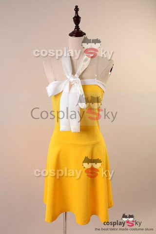 Fairy Tail Levy McGarden Dress Cosplay Costume