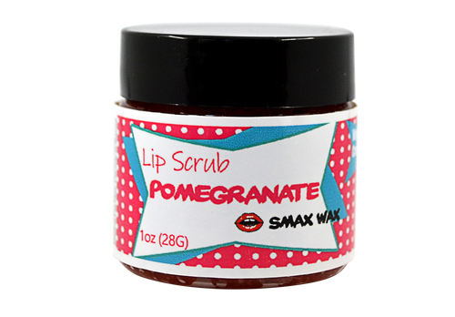 Pomegranate Lip Scrub - Smax Wax