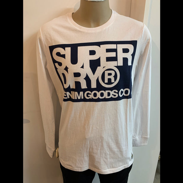 Denim Goods CO Print LS Tee 790