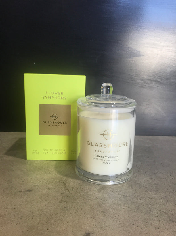 Flower symphony candle 380g 320