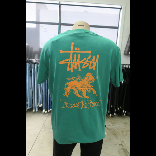 ITP Lion SS Tee in Hunter Green -1120