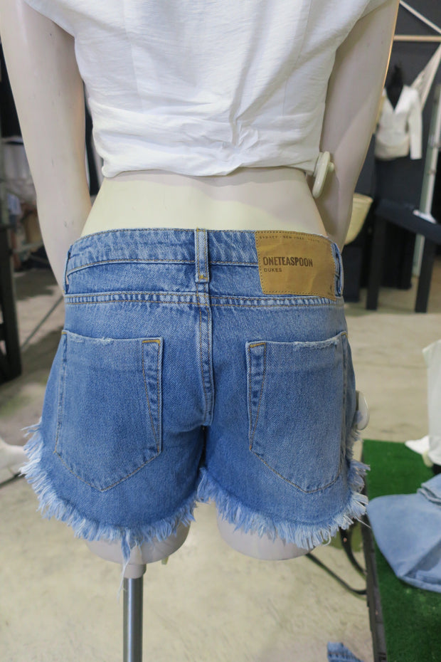 Pacifica Dukes Low Waist Shorts 1020
