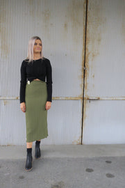 Light year skirt khaki