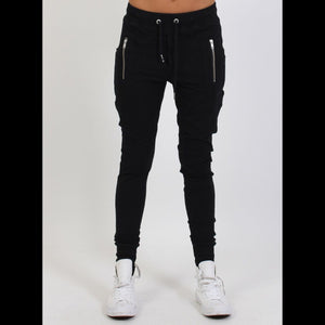 Escape Trackies Black/Silver 820