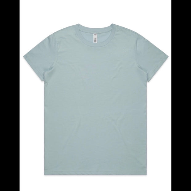 4051 Basic Tee / Pale Blue 1020