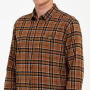 Union Check Shirt Tan 1120