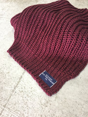 Aries sparkle scarf burgundy