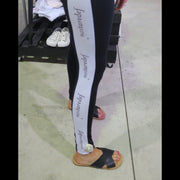 Player Legging Vertigo Black/White 920