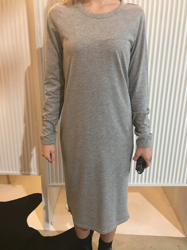 As colour mika ls dress - grey
