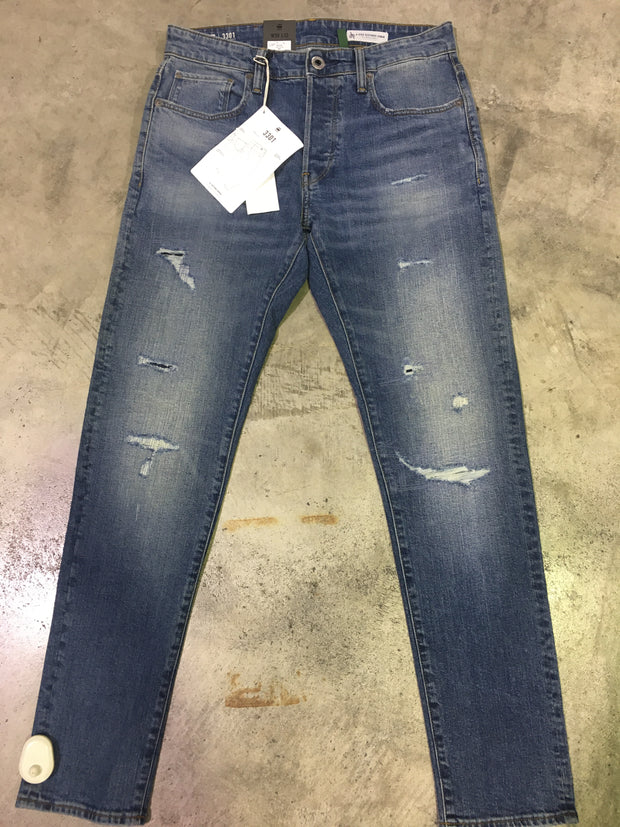 3301 slim - Worn in ripped jean 220