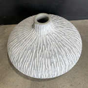 Scalion Textured Vase -Large Grey 1120