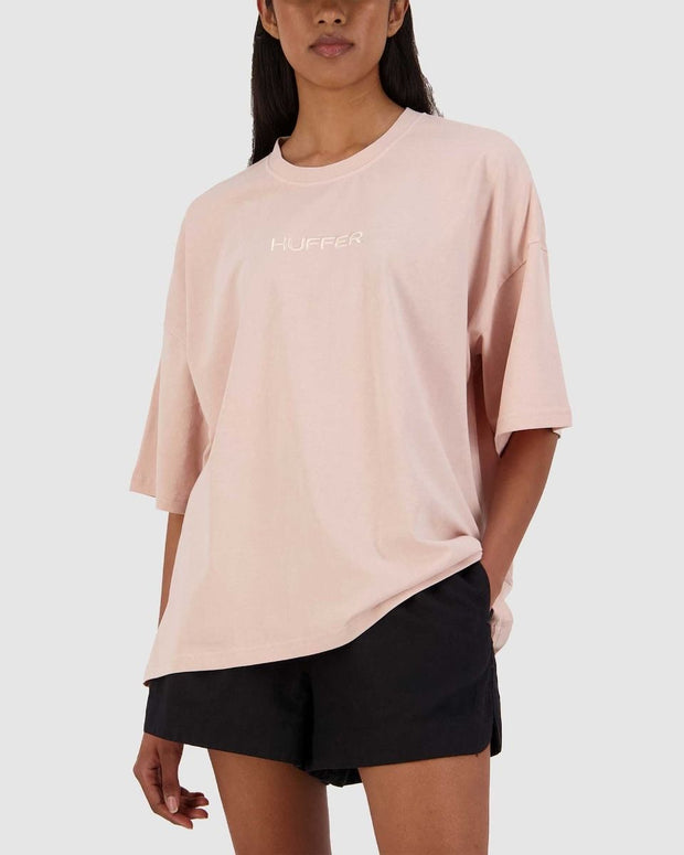 Premiere Abbey Tee in Gum Pink - 1020