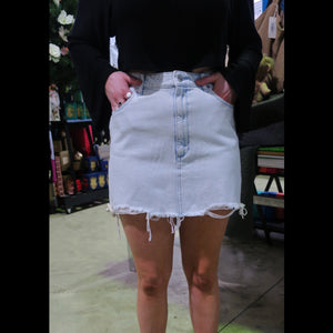 Repair Mini Skirt - Whitewater 1120