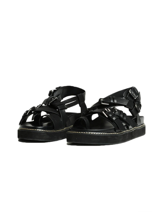 Warrior Sandal in Black - 1120