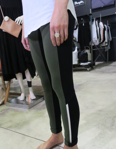 Nostelle high legging black/algae 20