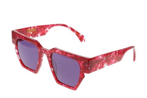 Homage Hot Pink Sunglasses- 1020