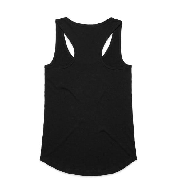 AS colour - YES raceback singlet
